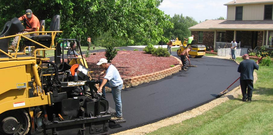 Grand Rapids Commercial Parking Lot Installation